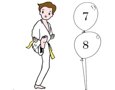 Judo 7-8 ans Lundi 17h30 -18h30