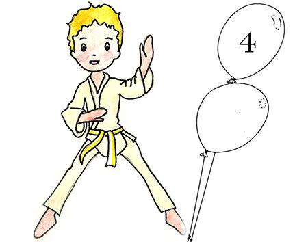 Liste d'attente Judo 4 et 5 ans Lundi 16h45 -17h30