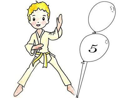 LISTE d'ATTENTE Judo 5 ans Lundi 16h45 -17h30