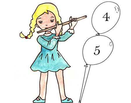 LISTE d'ATTENTE Eveil musical 4 à 5 ans (grande section) Mercredi 15h -15h45