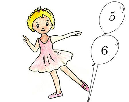 inscription en cours d'année Initiation à la danse 5-6 ans Mardi 16h -17h