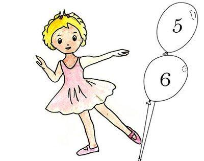 Initiation à la danse 5-6 ans Mardi 16h -17h