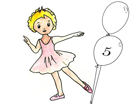 LISTE d'ATTENTE Initiation à la danse à partir de 5 ans Mercredi 14h -14h45
