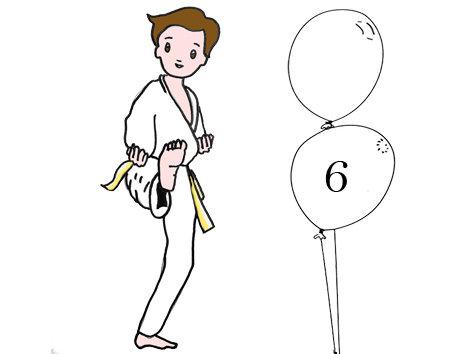 Judo 6 ans Lundi 17h30 -18h30