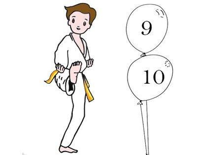 Judo 9 -10 ans Lundi 18h30 -19h30