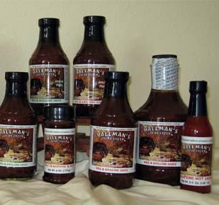 BBQ Sauce bundle of two 19.8 oz bottles or two 6 oz BBQ Rubs