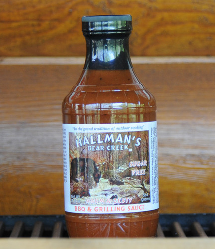 Warm & Zesty BBQ Sauce Sugar-Free 19.8 oz