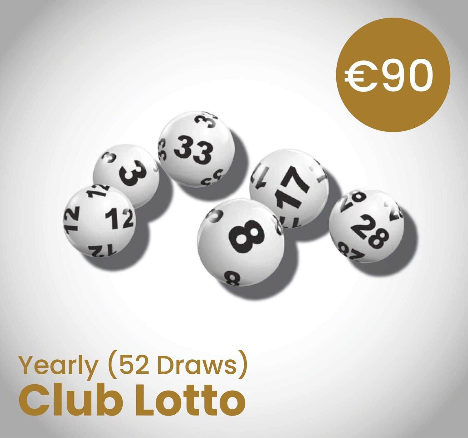 Club Lotto Yearly ( 52 Draws)