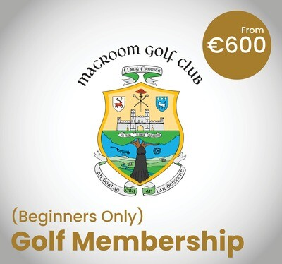 Golf Membership (Beginners Only)
