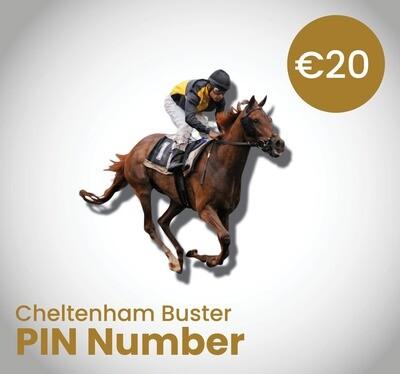 Cheltenham Buster PIN Number