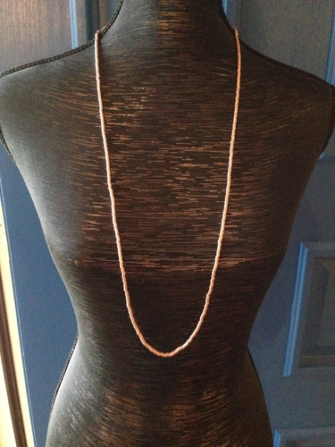 Sheila Fajl Tube Necklace Medium Length