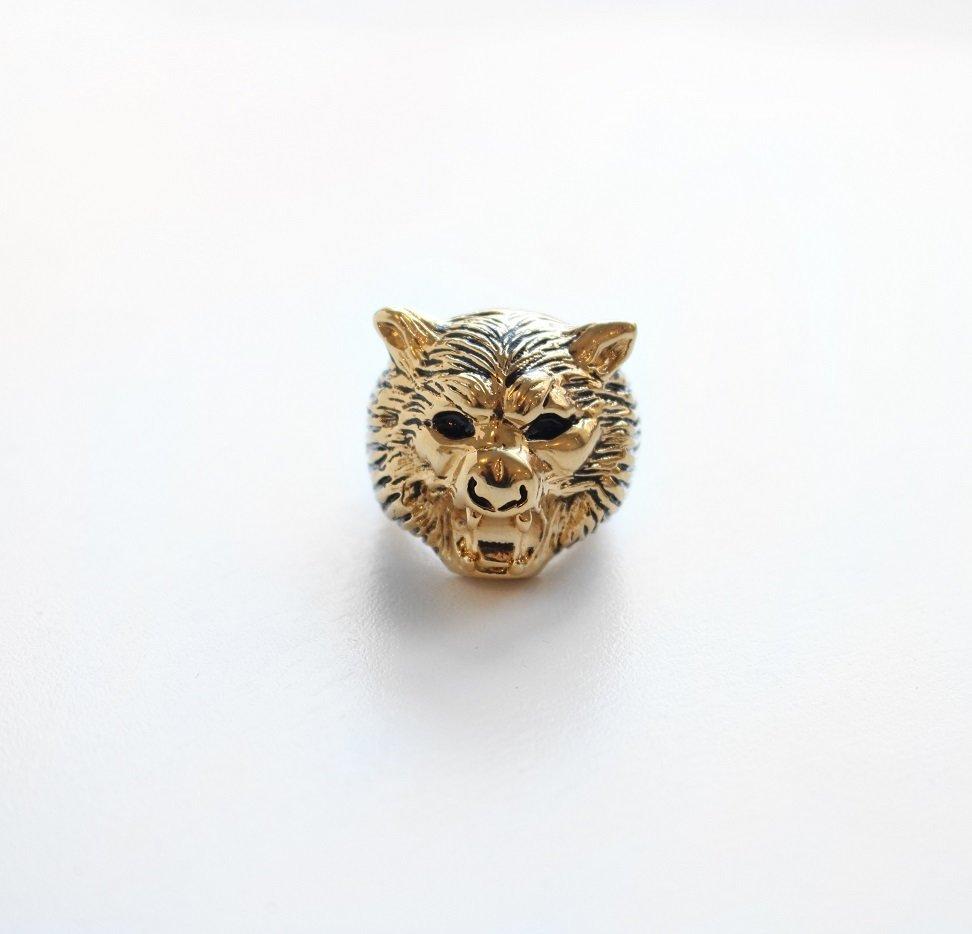 Jenny Bird Hear Me Roar Ring - Lisa Lion 01554