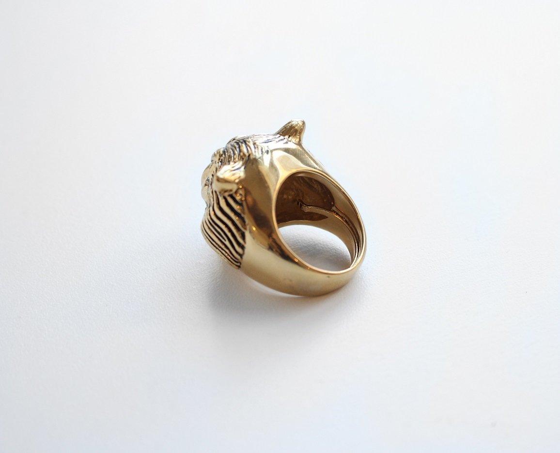 Jenny Bird Hear Me Roar Ring - Lisa Lion