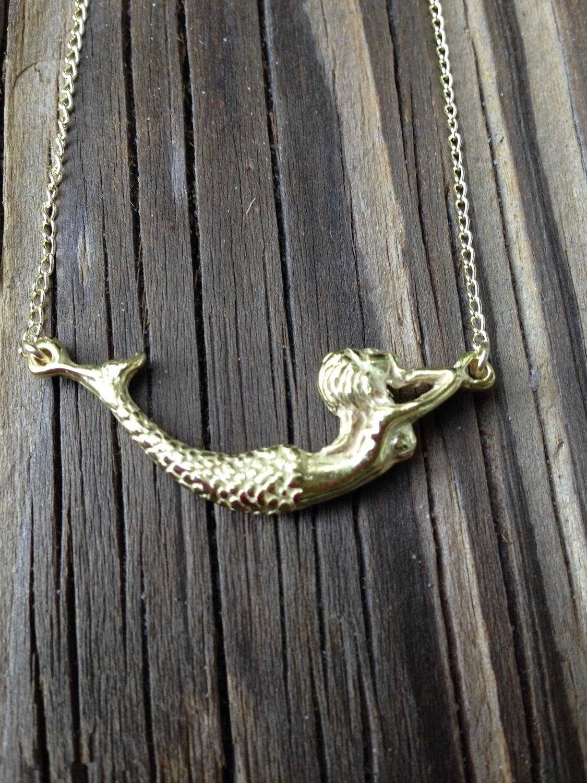 Sheila Fajl Melody Mermaid Necklace