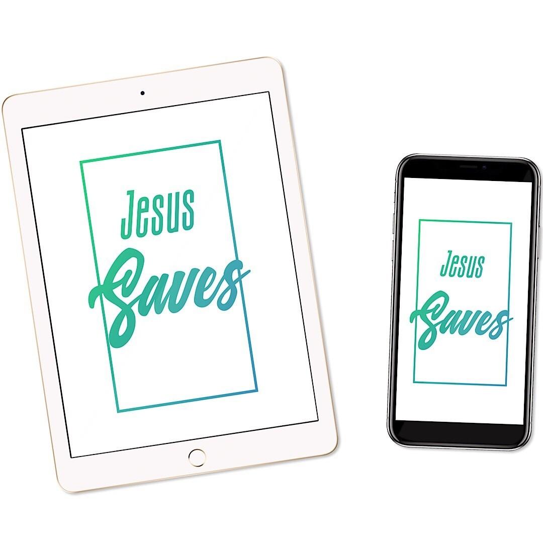 Jesus Saves Wallpaper