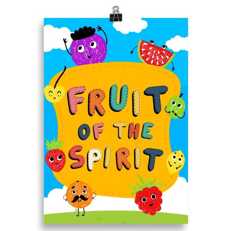 Fruit of the Spirit - Poster