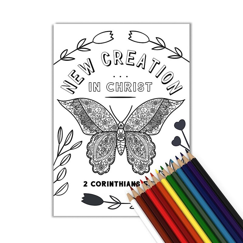 New Creation Coloring Page