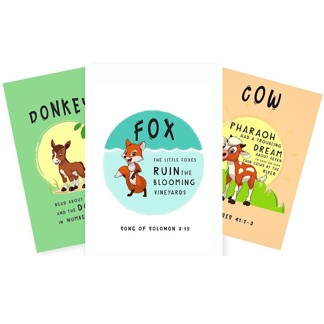 The Animal Kingdom (Part.2) - Bible Printables