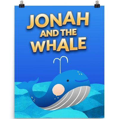Jonah and the Whale - Poster