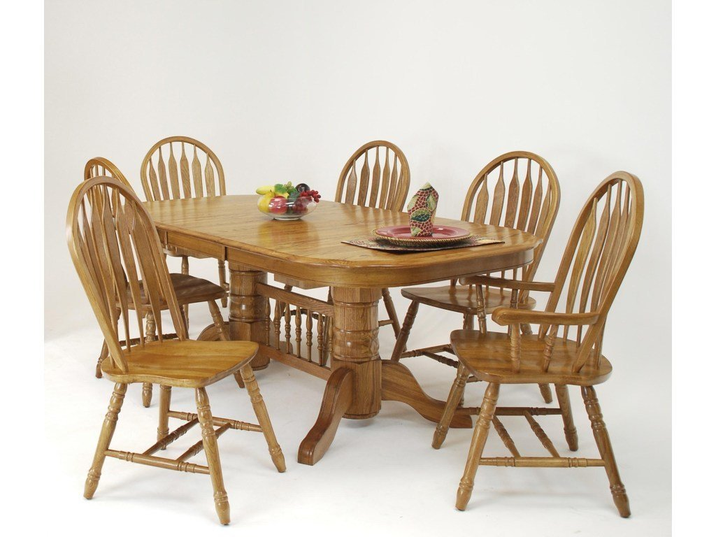 Cochrane Classic Threshers Table & 4 Side Chairs