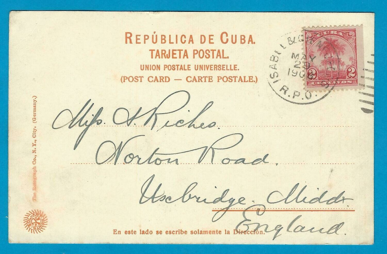 CUBA PPC Hotel Camaguey 1908 Isabela & Cienfuegos RPO