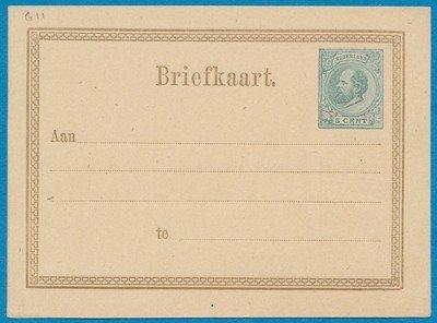 NEDERLAND briefkaart 1876 *