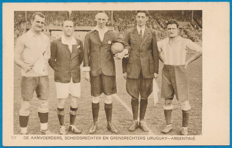 OLYMPIADE Amsterdam 1928 kaart voetbal wedstrijd Uruguay Argentinië *