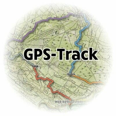 GPS-Track van het Geertje Arendspad