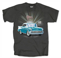 Chevy Bel Air Drive In Burst