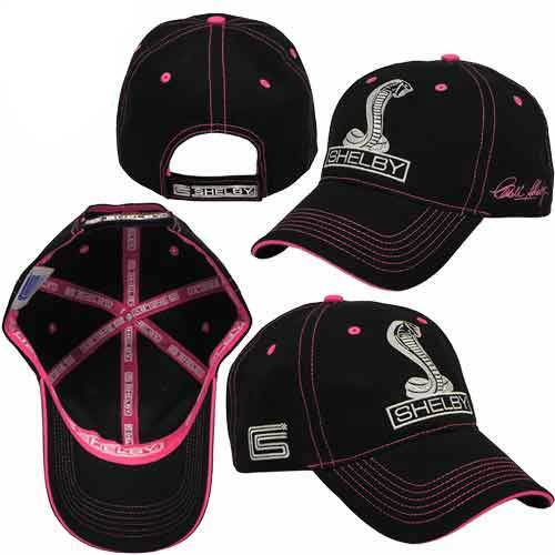 Shelby Cobra Signature Pink Cap