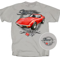 Corvette C3 Red Stingray