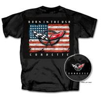"""Corvette """"Born In The USA"""" Black"""