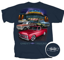 Chevy Truck Dealer Scene 67-72