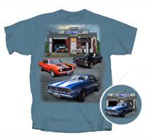 Chevelle, Nova, 67 Camaro, 69 Camaro - Super Chevrolet Service Muscle Garage