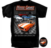 """Muscle Garage """"You Can Never Have Enough Toys"""""""