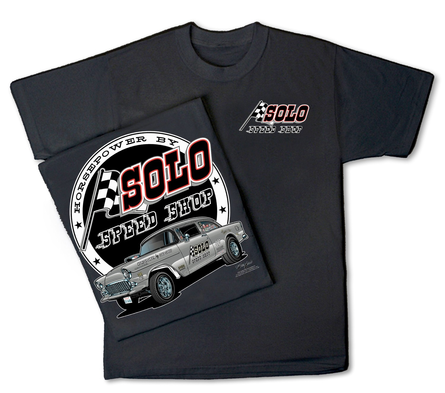 Solo Speed Shop 55 Chevy
