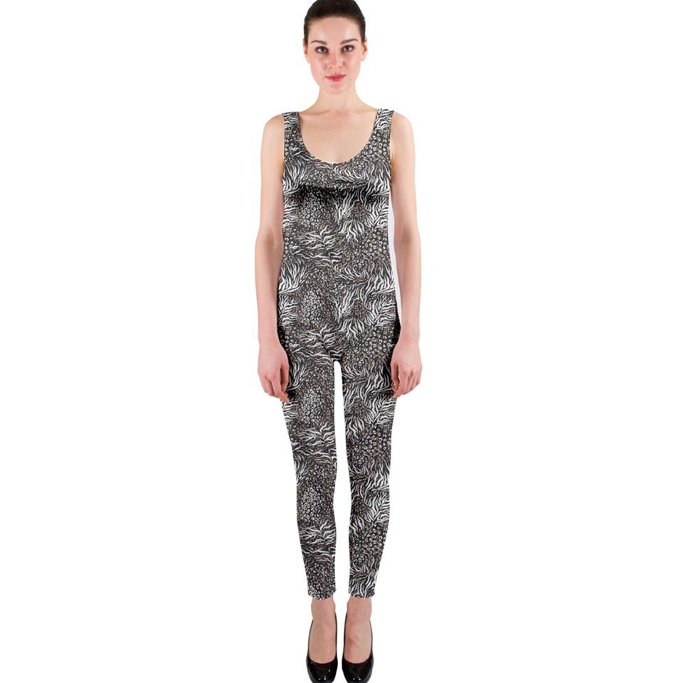Wild! Sleeveless Unitard