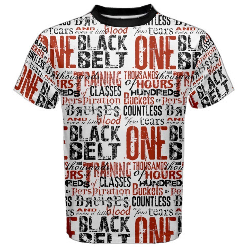 One Black Belt Short Sleeve T