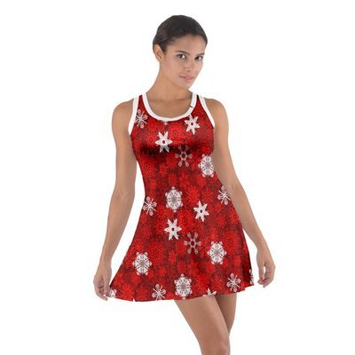 Who Flakes Cotton Racerback Dress