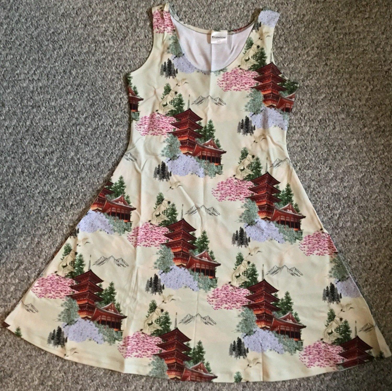 Firefly Pagoda Sleeveless Flared Dress