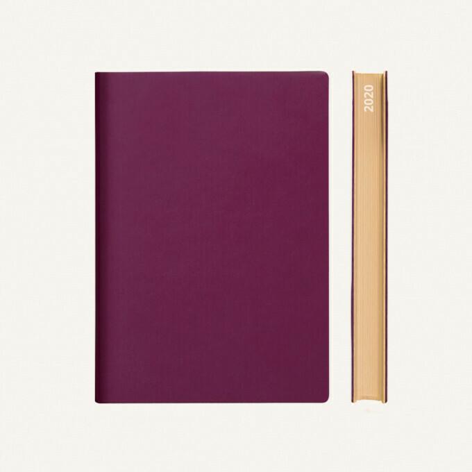 Signature 2020 Határidőnapló - A5, lila