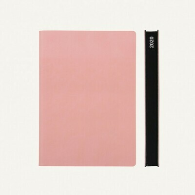 Signature 2020 Határidőnapló - A5, rózsaszín