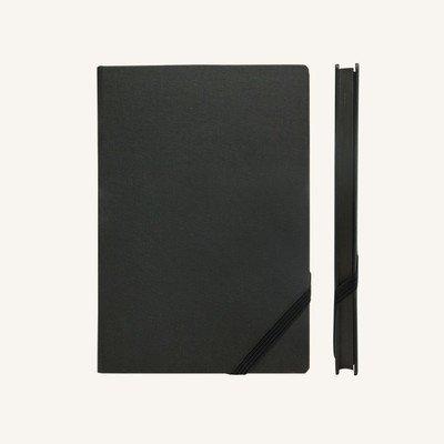 Make My Day vonalas jegyzetfüzet - A5 , fekete