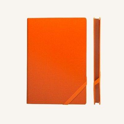 Make My Day vonalas jegyzetfüzet - A5 , narancs