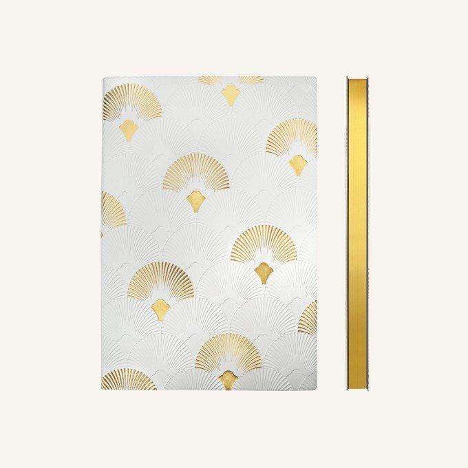 Signature Art deco ponthálós jegyzetfüzet - A5 , Fanfare