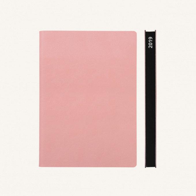 Signature 2019 Határidőnapló - A5, rózsaszín