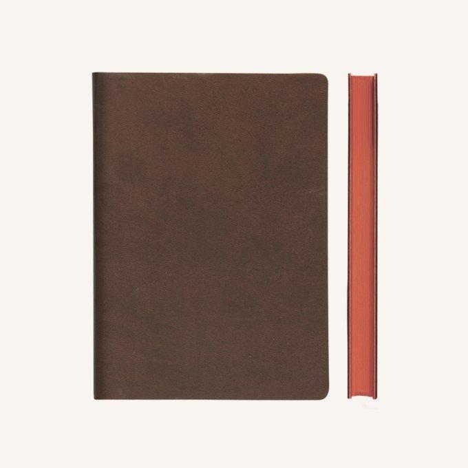 Signature ponthálós jegyzetfüzet - A5 , barna
