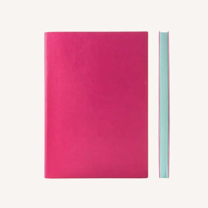 Signature ponthálós jegyzetfüzet - A5 , Magenta