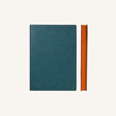 Signature sima üres lapos jegyzetfüzet - A6 , Zöld