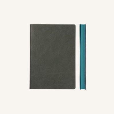 Signature sima üres lapos jegyzetfüzet - A6 , Szürke